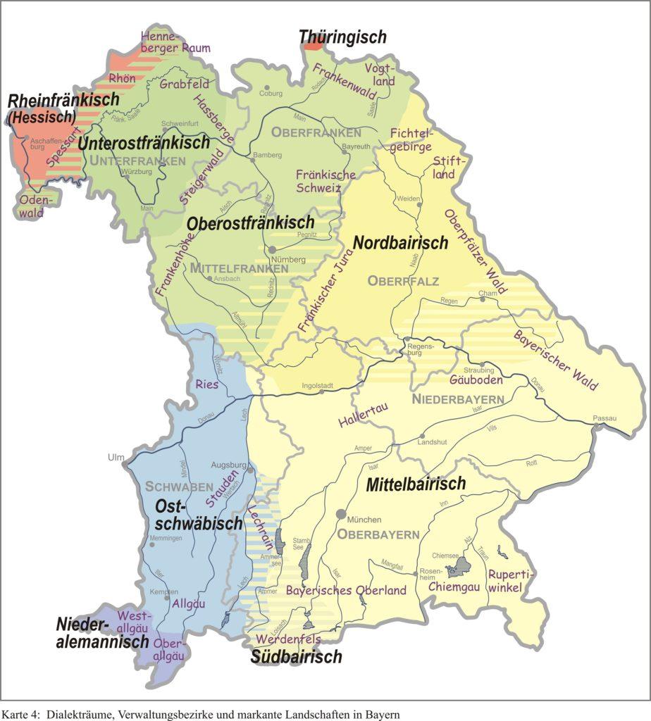 bairisch bayerisch Mundarten